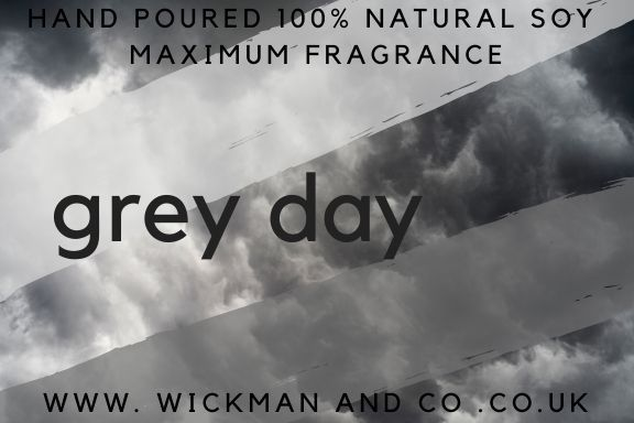 Grey Day Soy Wax Melt #